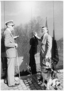BVA Members visiting Vietnam Memorial